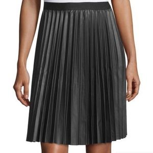 M.S.S.P. Max Studio Vegan Leather Skirt